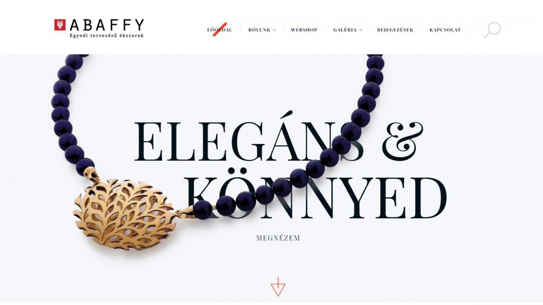 Megújult az abaffy.hu weboldalunk!